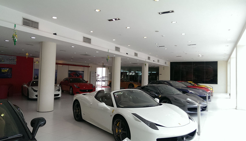 design and build project ferrari interiors